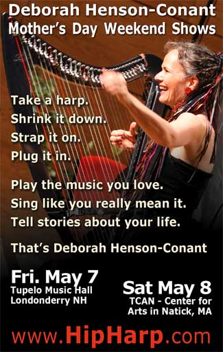 Deborah Henson-Conant Mother's Day Weekend Shows