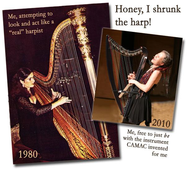 Honey, I Shrunk the Harp!
