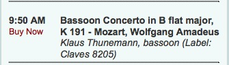 Bassoon Concerto / AllClassical.org