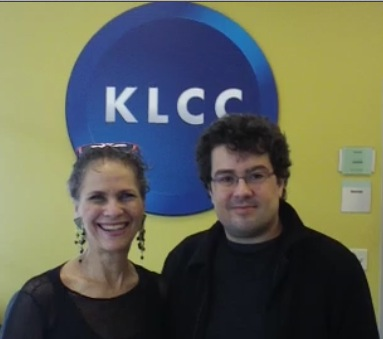 Deborah Henson-Conant & Danail Rachev at KLCC in Eugene, OR