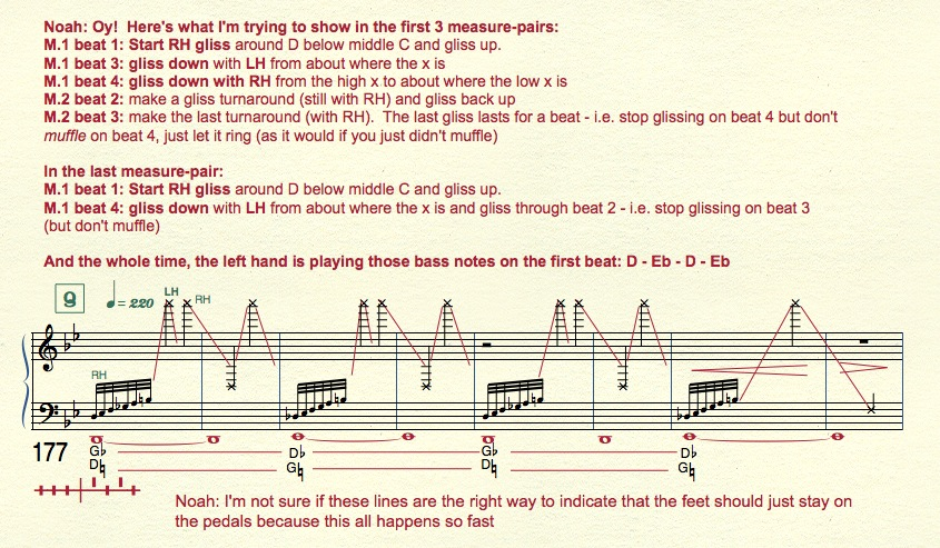 Glissando notation woes