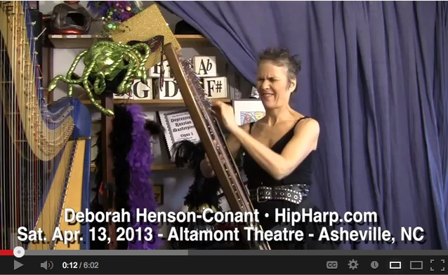 Video image - Harp gets Hip at the Altamont