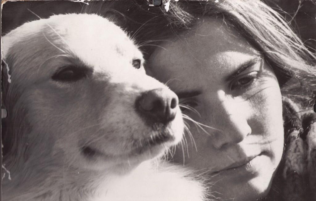 My dog Emery and Me circa 1972