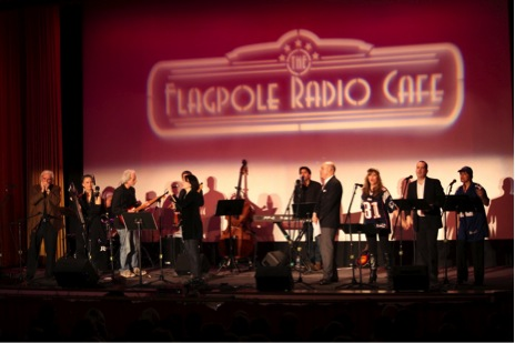 Flagpole Radio Cafe band & cast with special guest Deborah Henson-Conant