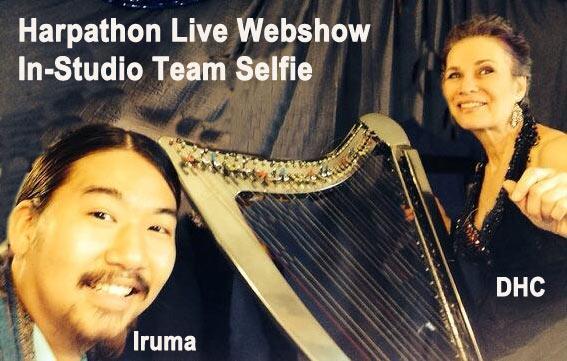 harpathon-selfie-dhc-iruma