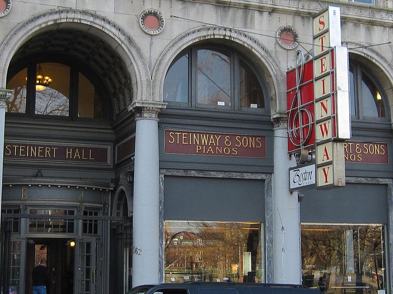 The Steinert Building on Boylston in Boston