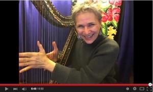 News Sung to Blues - Deborah Henson-Conant in her studio