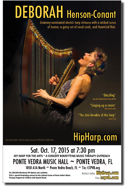 Oct. 17, 2015 - DHC with Harp - Poster Image