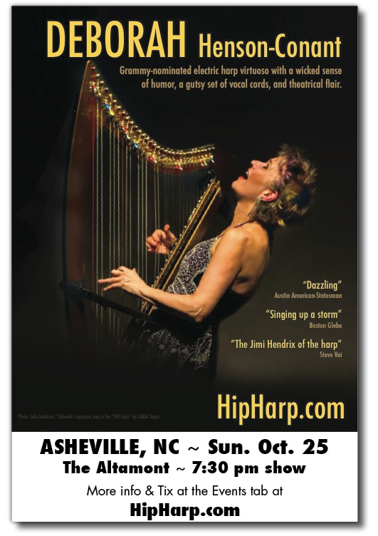 THIS WEEKEND: Asheville, NC –  What kind of woman does THAT?