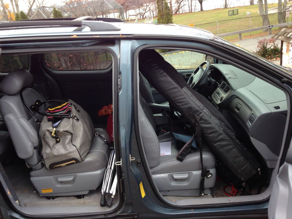 car-harp-shotgun