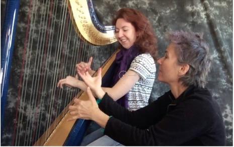 Jazz harp intensive image