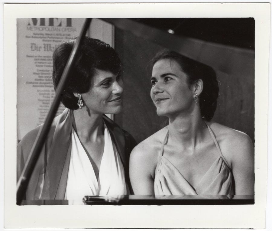 With my lifelong muse, my aunt, Gloria Hodes. Can you tell I adore her?