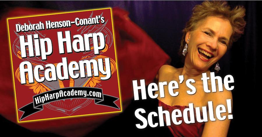 Hip Harp Academy 2017 Schedule