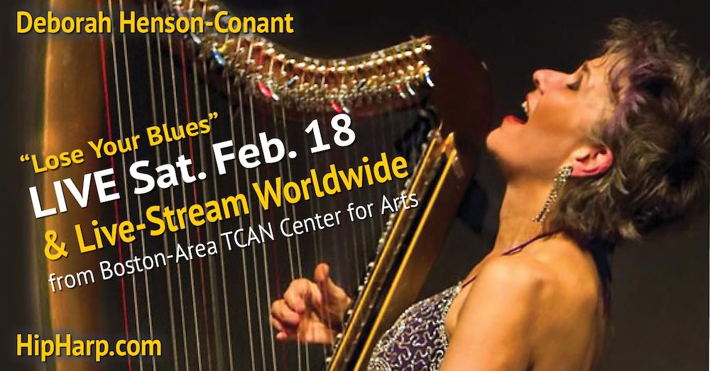 LIVE on Stage – Feb. 18 – Boston-Area – Deborah Henson-Conant – TCAN
