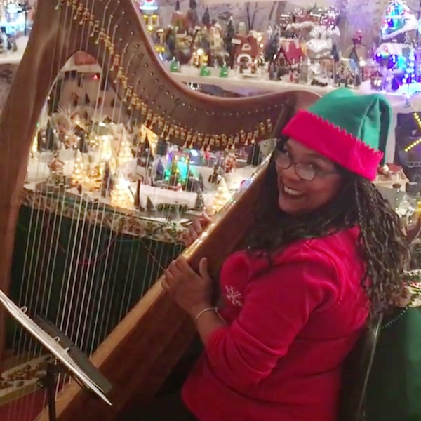 Holiday Harp Greetings – Final Beginning Projects – HHT 2016