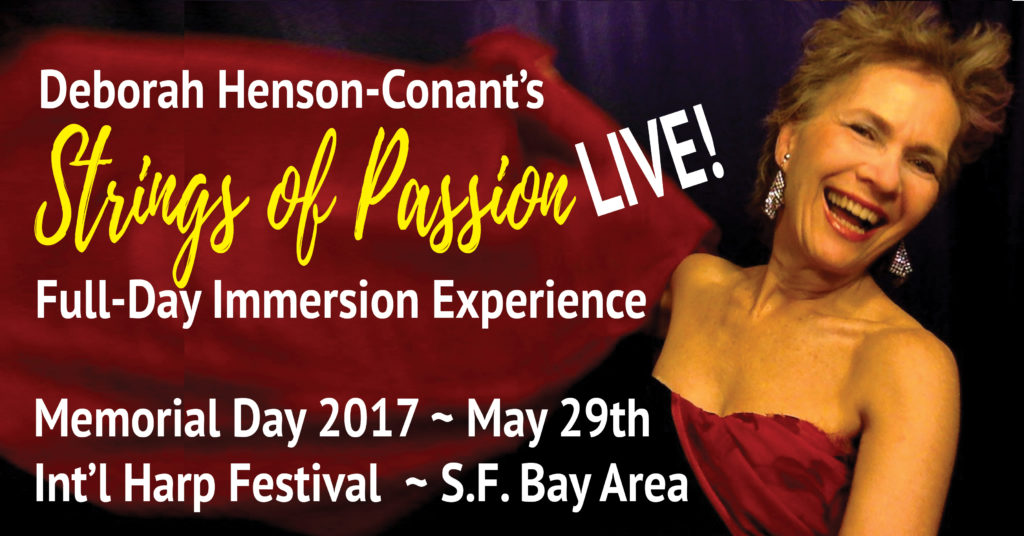 Strings of Passion -LIVE! Full-Day Workshop at International Harp Festival