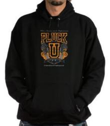 Black Pluck-U Hoodie