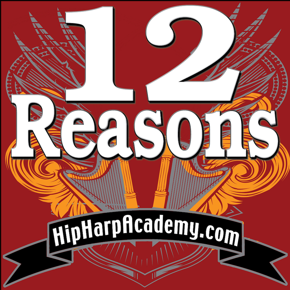 Let's do it AGAIN! (12 Reasons Students Renew Membership in Hip Harp Academy)