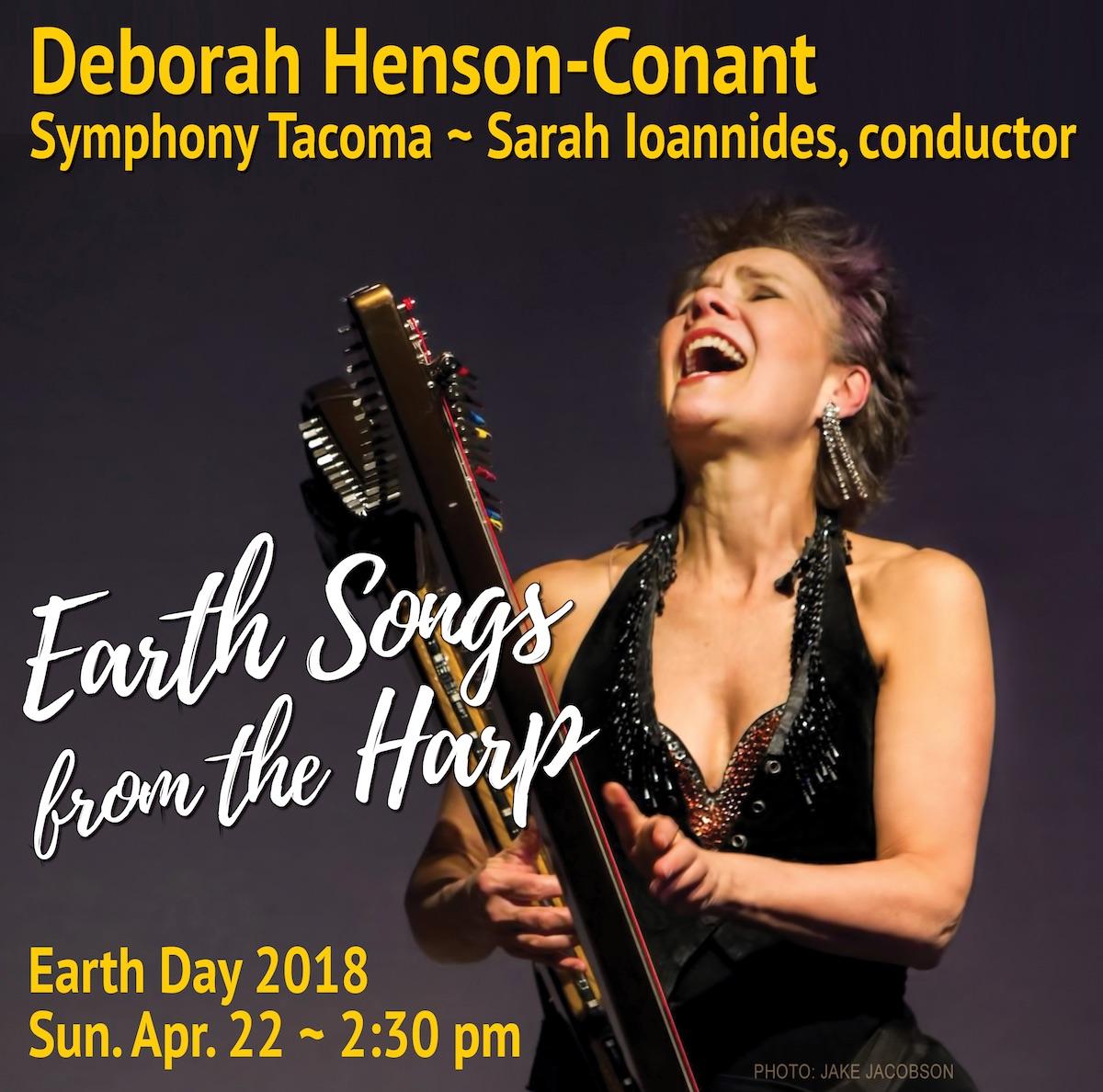 Deborah Henson-Conant LIVE with Symphony Tacoma