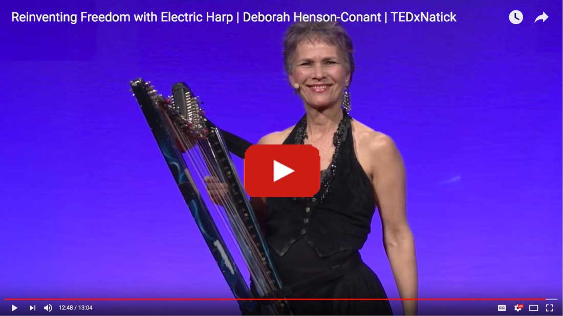 TEDx Talk 'from the Harp' with Deborah Henson-Conant
