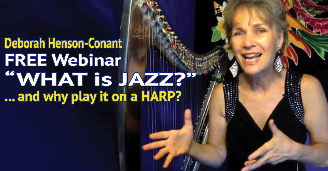 What is Jazz? (and why should you play it on a HARP?)