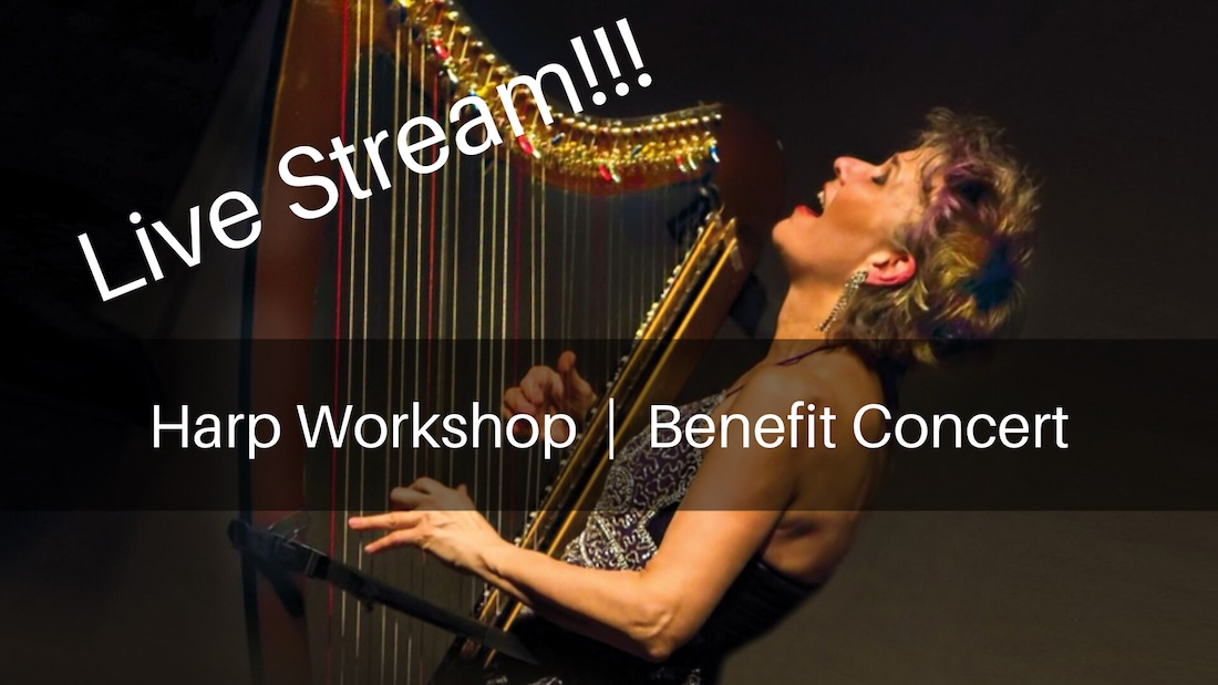 LIVE-STREAM Workshop & Concert – LIVE from Houston!