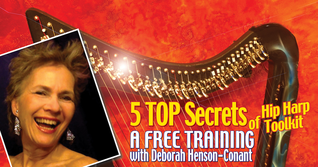 The 5 TOP Secrets of Hip Harp Toolkit (Free Webinar)